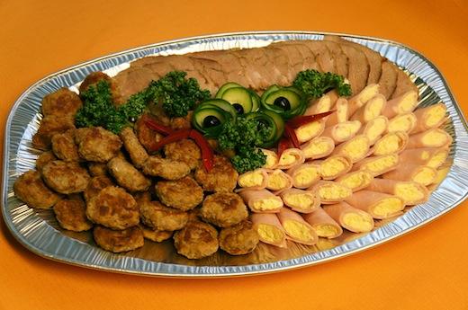 Lihavaagen, singirullid, kotletid, liha