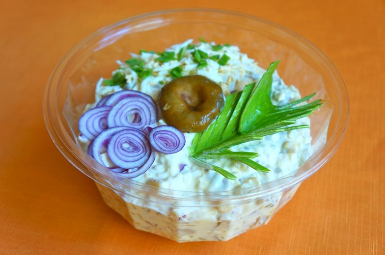 Seene-kartulisalat