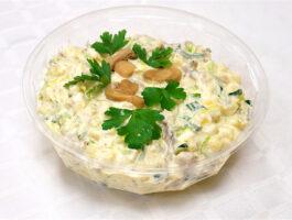 sampinjoni kartulisalat